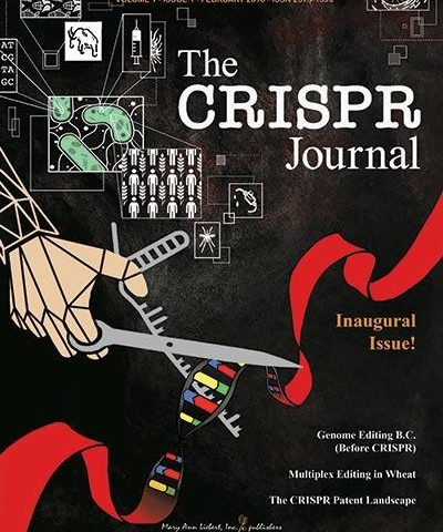 Inaugural Issue of the CRISPR Journal Features Study About Batten Disease