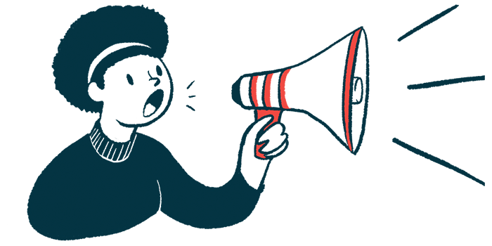 NGN-101   Batten Disease News   CLN5 gene therapy   illustration of woman with megaphone